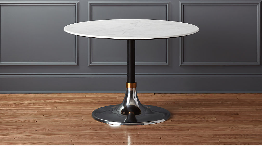 Hackney Marble Dining Table Reviews Cb2