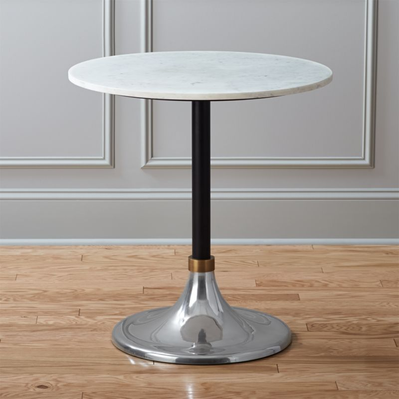 Martini Table: Hackney Marble Cocktail Table + Reviews