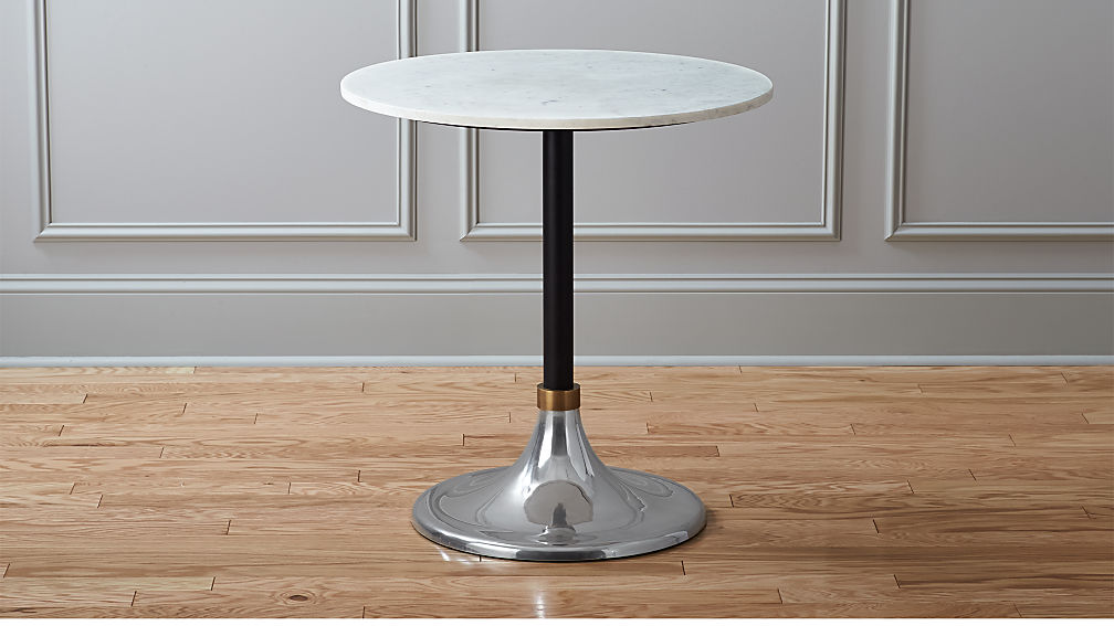 Hackney Marble Cocktail Table Reviews CB - Cb2 cocktail table
