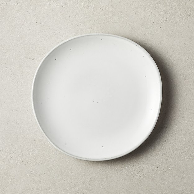 Halley White Salad Plate - Image 1 of 3