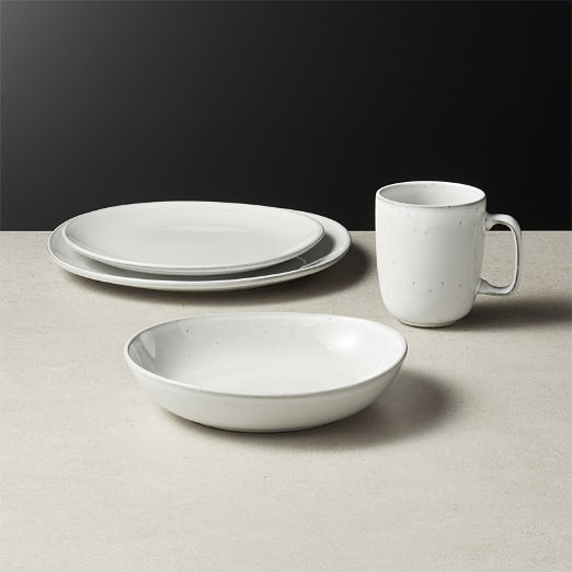 Halley White Dinnerware