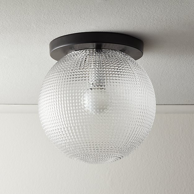 Halo Globe Flush Mount Light - Image 1 of 6