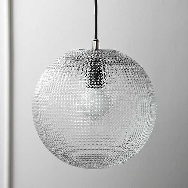 Halo Globe Pendant Light - Image 1 of 6