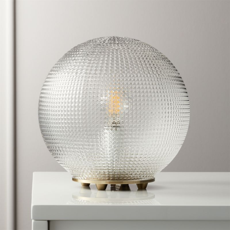 Halo Globe Table Lamp + Reviews