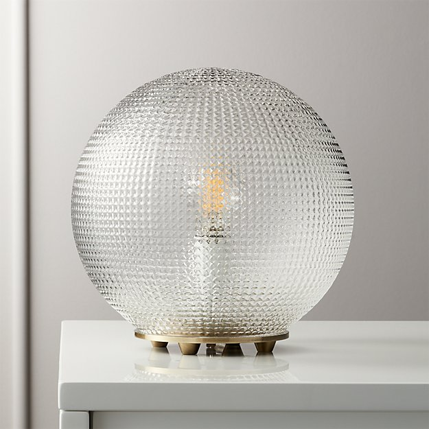 Halo Globe Table Lamp - Image 1 of 8