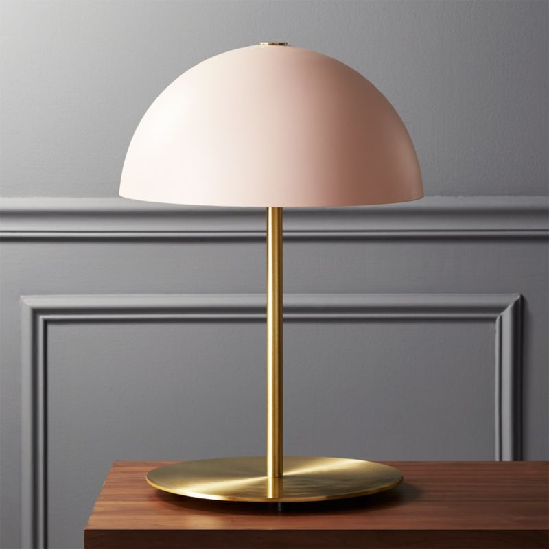 Lamp Plus Stores: Hanna Pink Table Lamp + Reviews