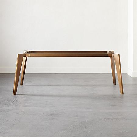 Fantastic Harper Brass Dining Table Base Interior Design Ideas Tzicisoteloinfo