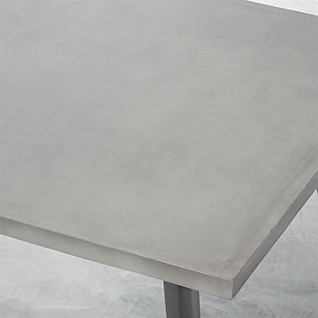 Harper Concrete Dining Table Top Reviews Cb2 Canada