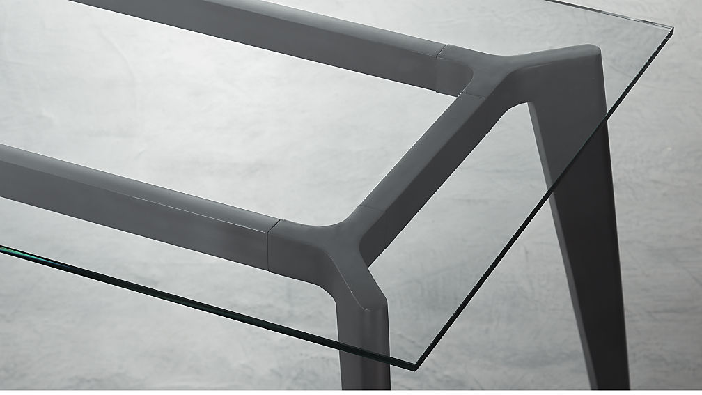 Harper Glass Dining Table Top - Image 1 of 3