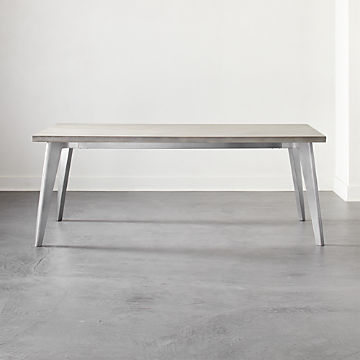 Delicieux Cement Tables | CB2