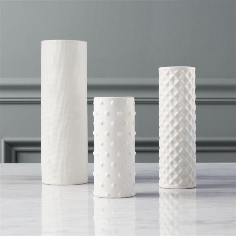 Cylinder Vases Cb2