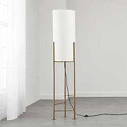 Haus White Floor Lamp
