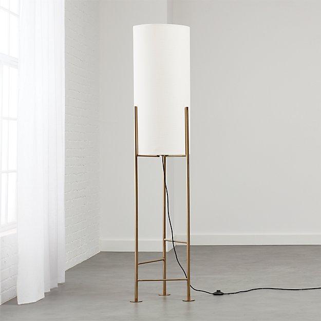Haus White Floor Lamp Reviews Cb2