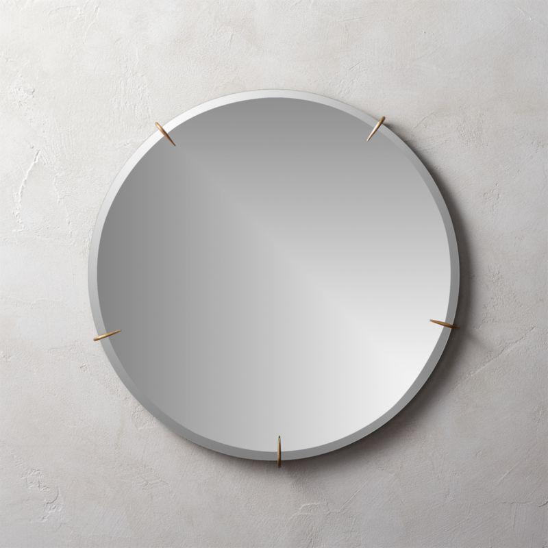 Hawk Round Wall Mirror 24\