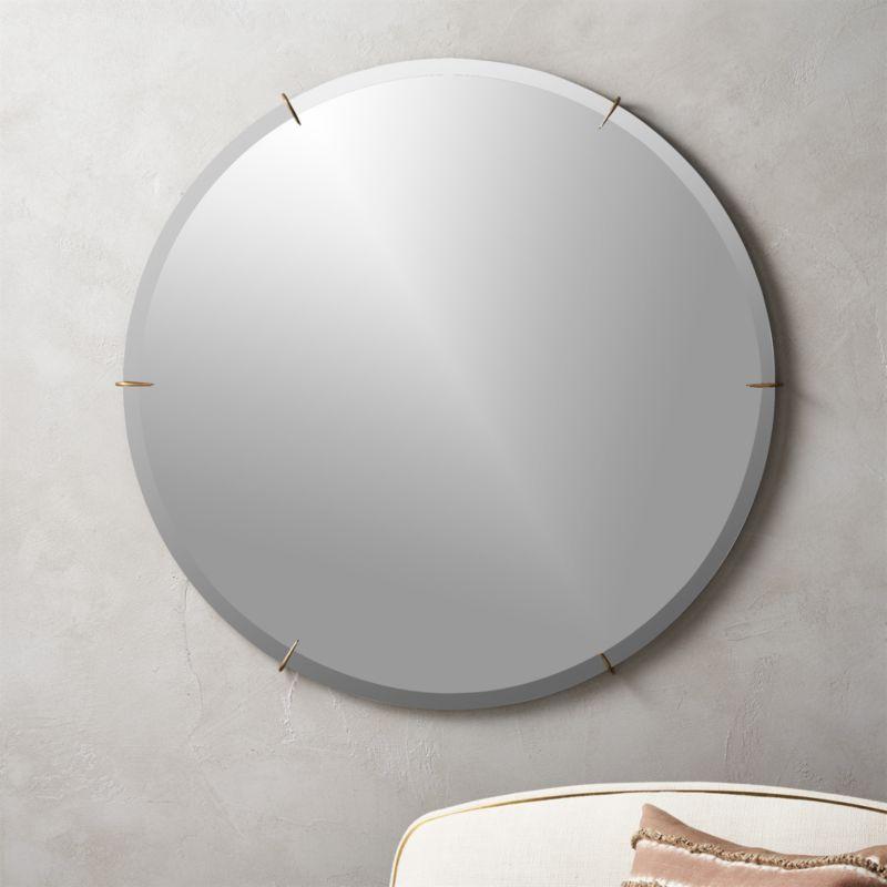 Hawk Round Wall Mirror 36\