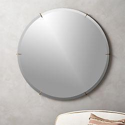 Hawk Round Wall Mirror 36