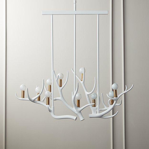Hayden Antler Pendant Light - Image 1 of 6