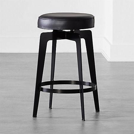 Amazing Hayden Round Counter Stool 24 Black Lamtechconsult Wood Chair Design Ideas Lamtechconsultcom