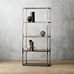 Haze Smoke Acrylic Bookcase