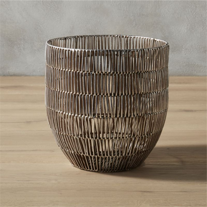 Heavy Metal Small Basket