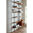 "View product image Helix 96"" Acacia Bookcase - image 2 of 10"