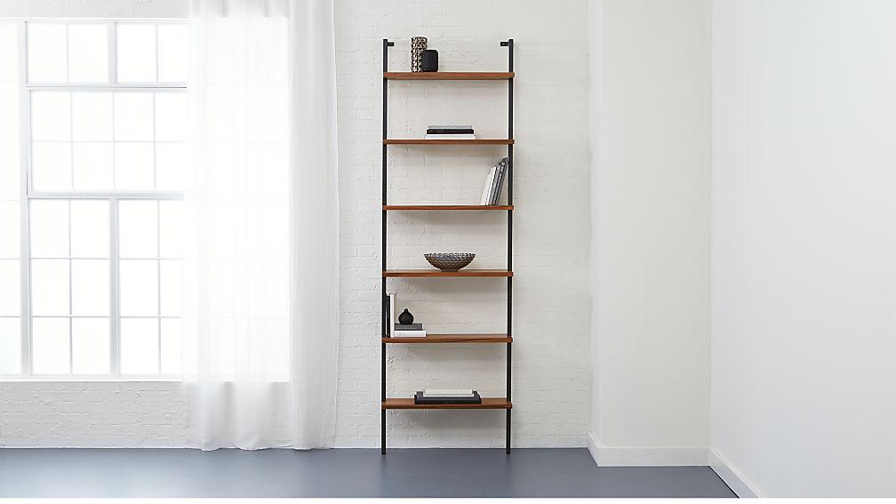 bookcase mounted book wall best ideas shelves shelving