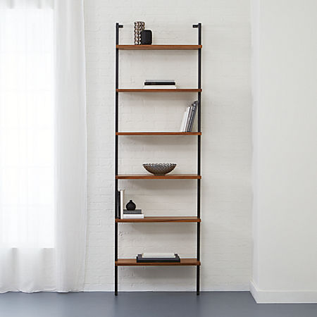 Helix 96 Acacia Bookcase