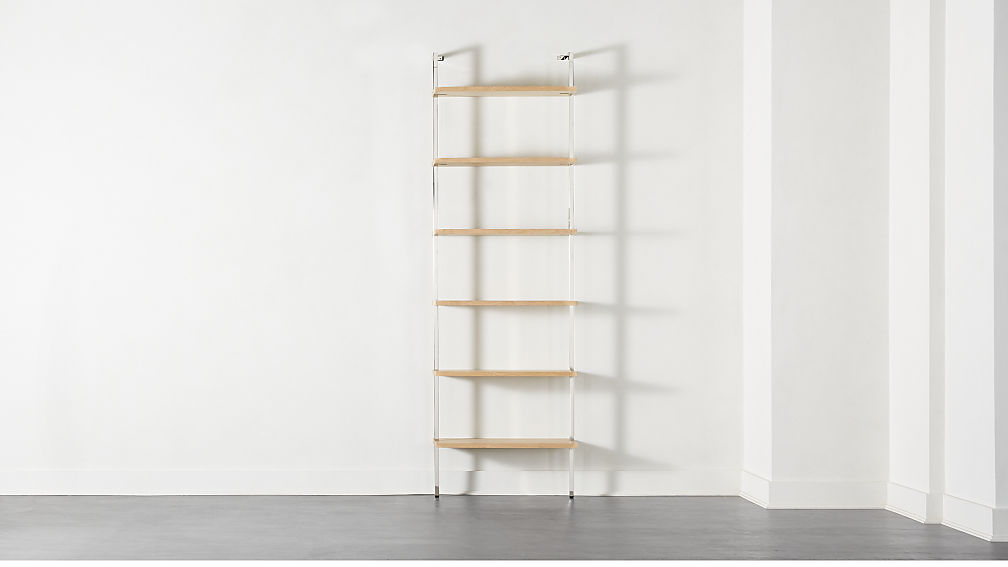 "Helix 96"" Bleached Oak Bookcase - Image 1 of 8"