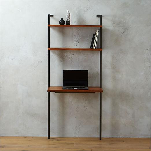 """Helix 70"""" Acacia Desk"""
