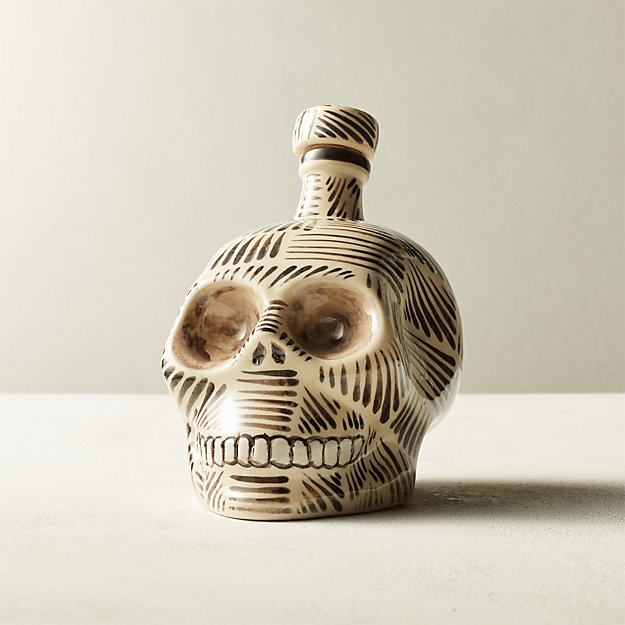 Henry Hand-Painted Tequila Decanter - Image 1 of 5
