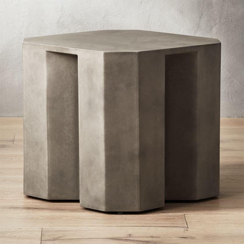 Cement Tables CB - Cb2 concrete table