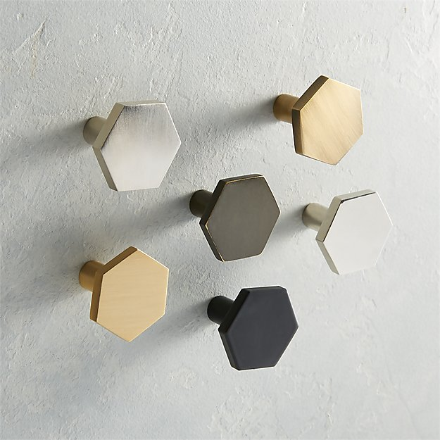 Hex Mini Knobs - Image 1 of 8