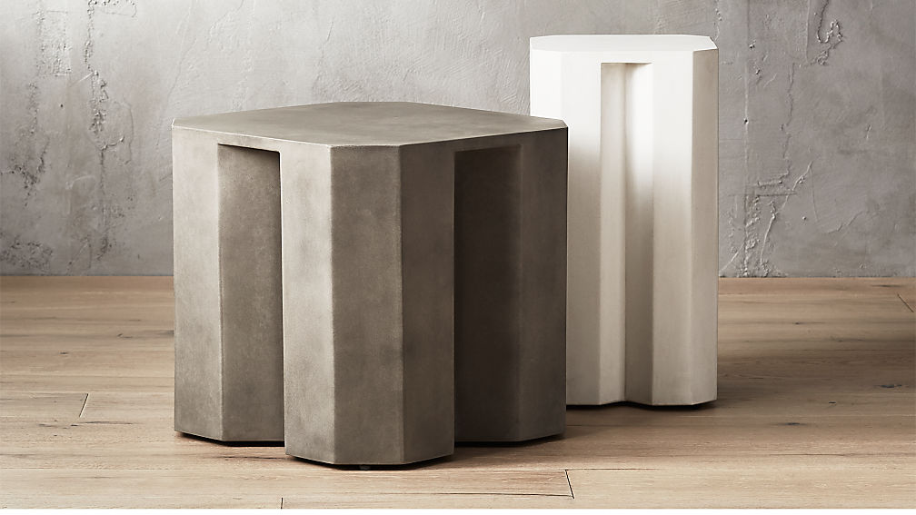 Hex Side Tables Cb2