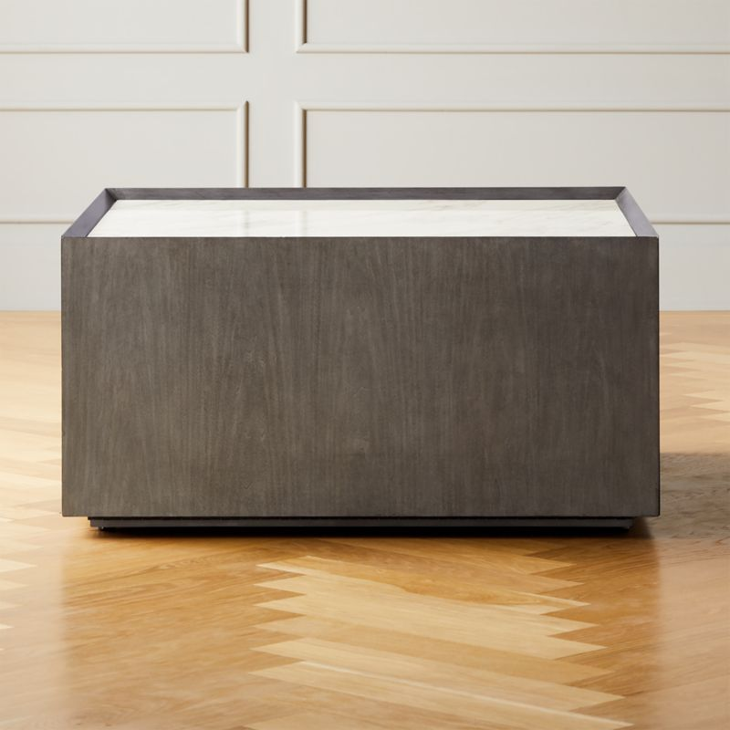 Hideaway Coffee Table With Storage Cb2
