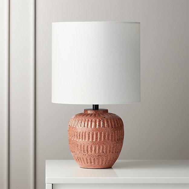 Hobbs Light Pink Table Lamp Reviews Cb2