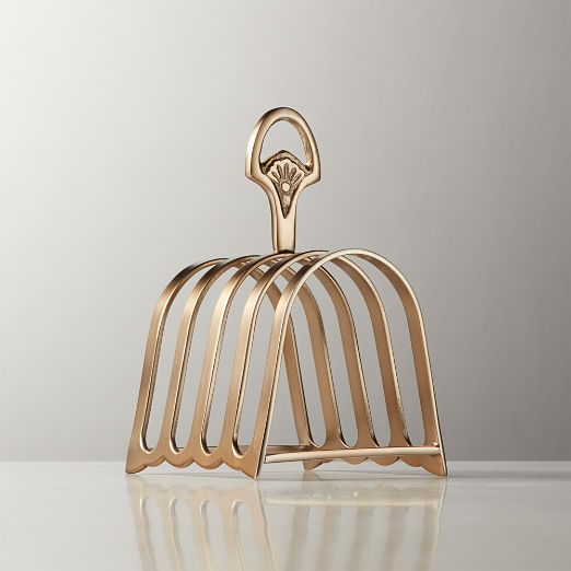 Hollings Bronze Toast Rack