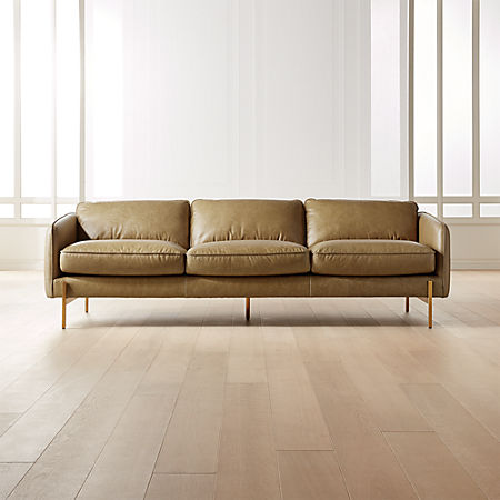 Hoxton Saddle Leather Sofa