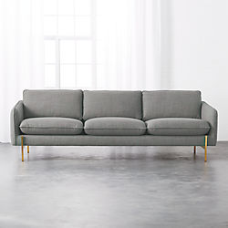 Hoxton Grey Sofa