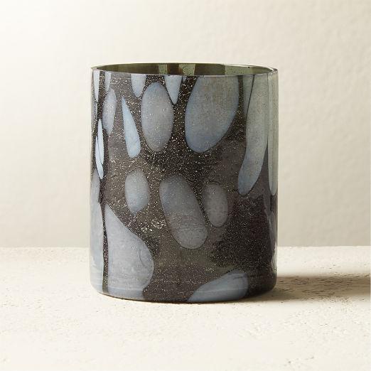 Hugh Glass Tea Light Candle Holder