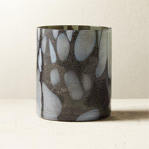 Hugh Glass Tea Light Candle Holder - Image 1 of 5