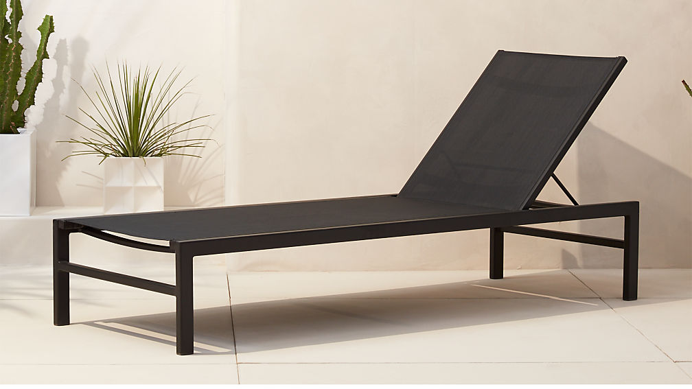 outdoor chaise lounge chairs idle black outdoor chaise lounge + Reviews | CB2 outdoor chaise lounge chairs