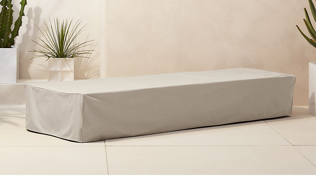 Idle Waterproof Outdoor Chaise Lounge Cover Reviews Cb2