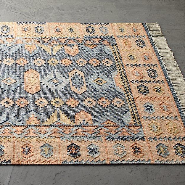 Iman Natural Faded Rug - Image 1 of 11