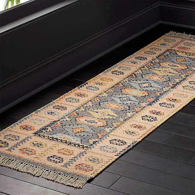 Iman Natural Faded Runner 2.5'x8' - Image 1 of 3