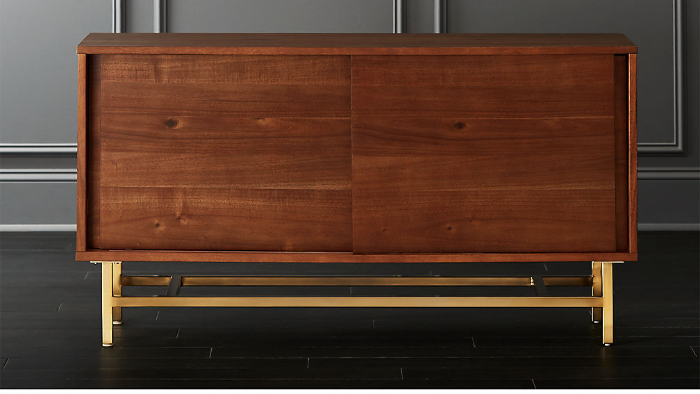 Inez Wood Credenza Reviews Cb2