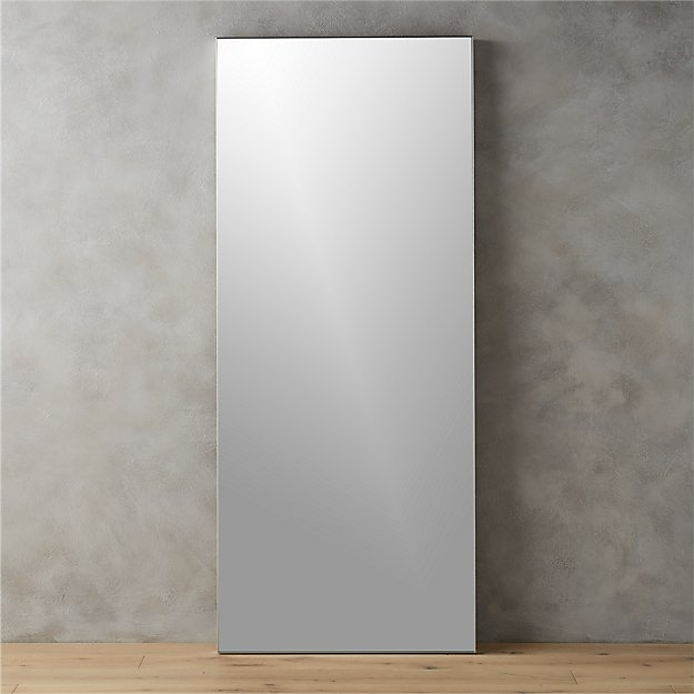 Infinity 32x76 floor mirror reviews cb2