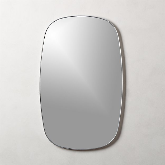 Infinity Silver Oblong Wall Mirror - Image 1 of 4