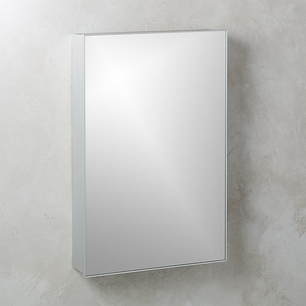 "Infinity Silver Medicine Cabinet 24""x36"" - Image 1 of 4"