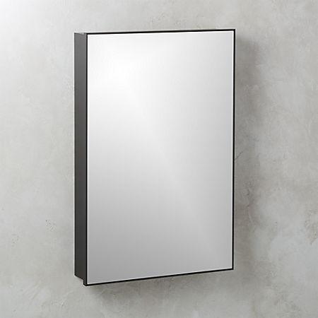 Amazing Infinity Black Medicine Cabinet 24X36 Reviews Cb2 Home Remodeling Inspirations Gresiscottssportslandcom