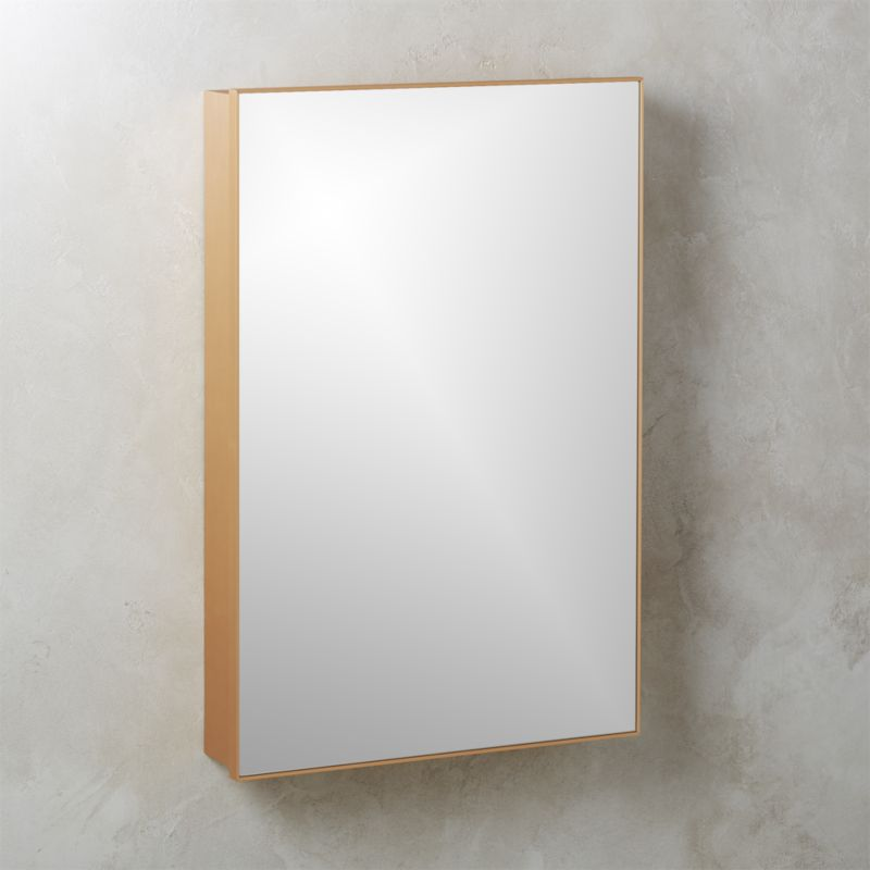 Infinity Copper Medicine Cabinet 24 X36